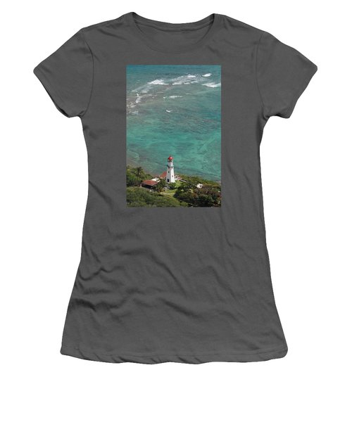 Diamond Head Lighthouse 3 Women's T-Shirt (Athletic Fit)