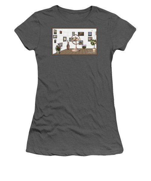 digital exhibition _ Statue of fish 2 Women's T-Shirt (Athletic Fit)