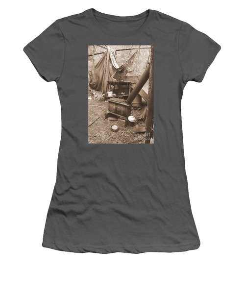 Women's T-Shirt (Athletic Fit) featuring the photograph Dinner Will Have To Wait by Marie Neder