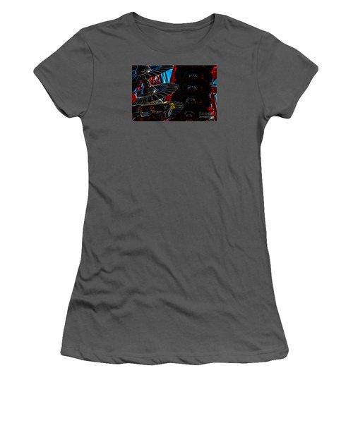 Women's T-Shirt (Junior Cut) featuring the photograph Disc Drive by Trey Foerster