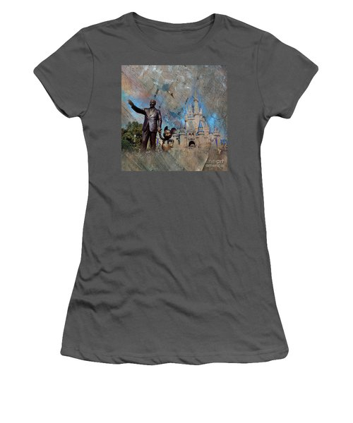 Disney World Women's T-Shirt (Athletic Fit)