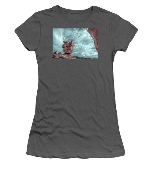 Disparate Colors  Women's T-Shirt (Junior Cut) by Bijan Pirnia