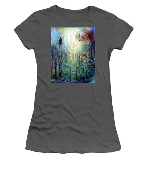Divine Mother Earth Women's T-Shirt (Athletic Fit)