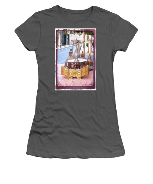 Women's T-Shirt (Athletic Fit) featuring the photograph Do-00456 Artisanat Collection by Digital Oil