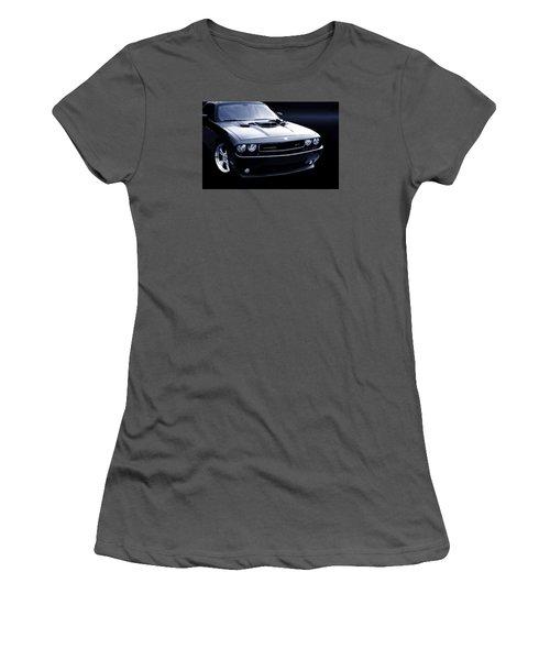 Dodge Challenger Blackbird Sr-71 Women's T-Shirt (Junior Cut)