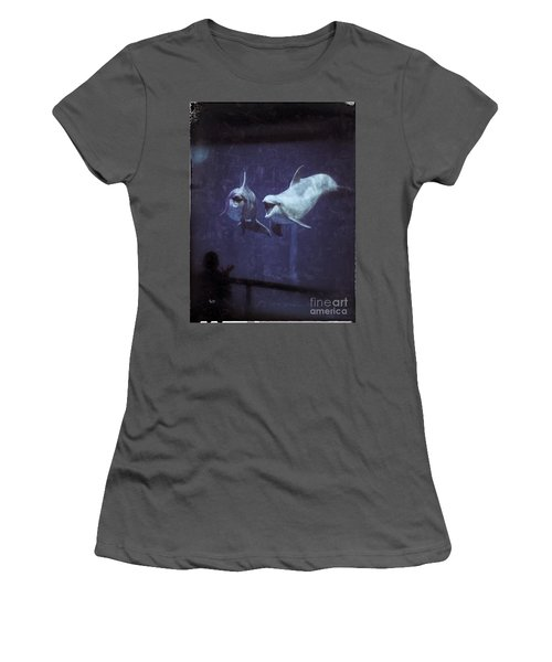 Dolphinspiration Women's T-Shirt (Athletic Fit)
