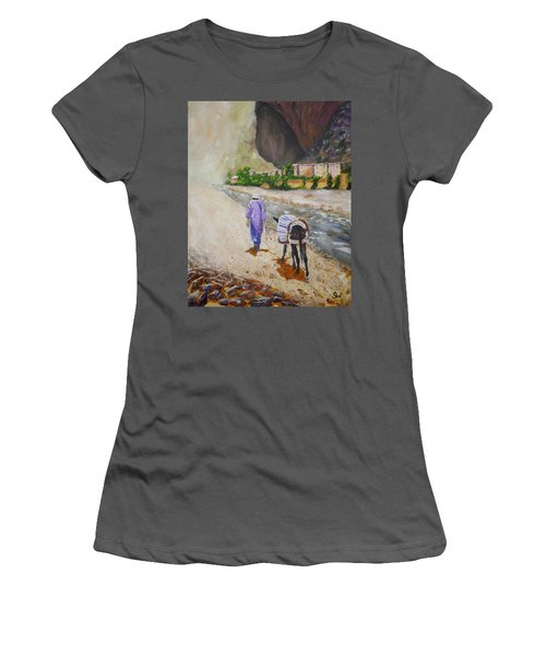Donkey Work Women's T-Shirt (Athletic Fit)