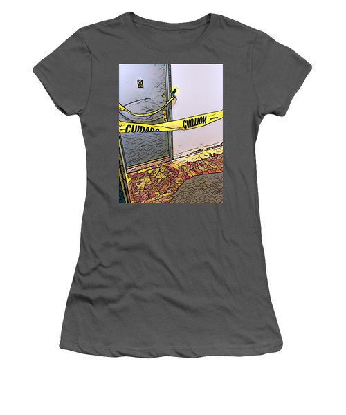 Door Of Perception Women's T-Shirt (Athletic Fit)