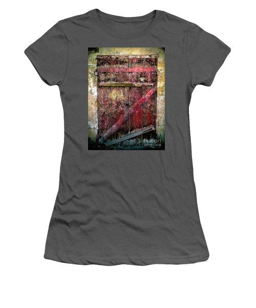 Door To My Heart Women's T-Shirt (Junior Cut) by Karen Lewis