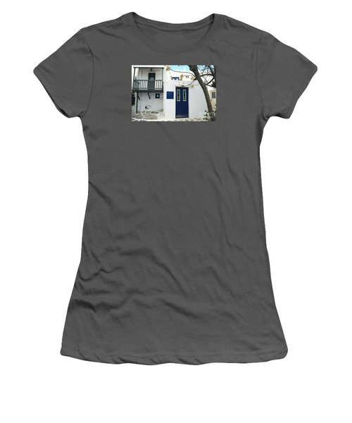 Women's T-Shirt (Junior Cut) featuring the photograph Doors by Haleh Mahbod