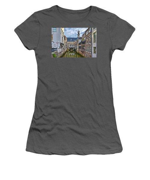Dordrecht Town Hall Women's T-Shirt (Athletic Fit)