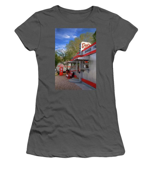 Dot's Diner In Bisbee Women's T-Shirt (Athletic Fit)