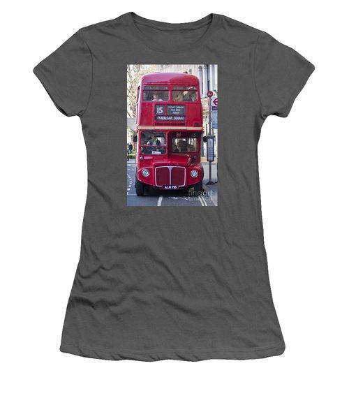 Double Decker  Women's T-Shirt (Athletic Fit)