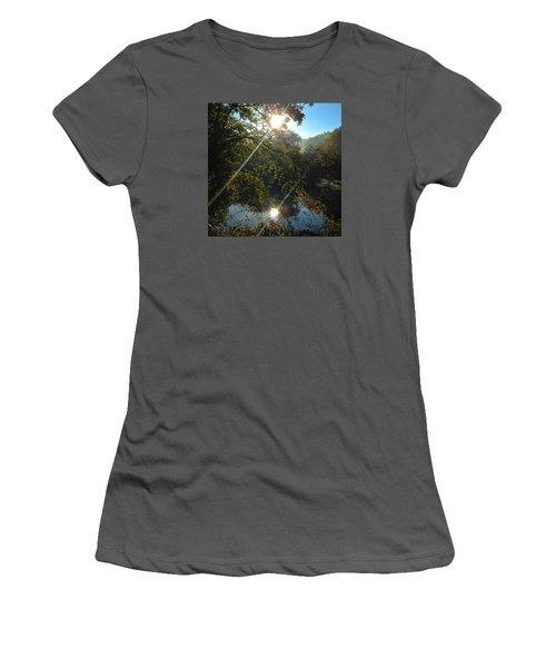 Double Vision Women's T-Shirt (Athletic Fit)