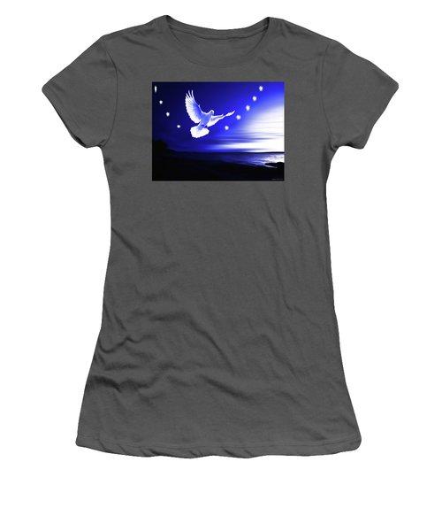 Dove Delight Women's T-Shirt (Athletic Fit)