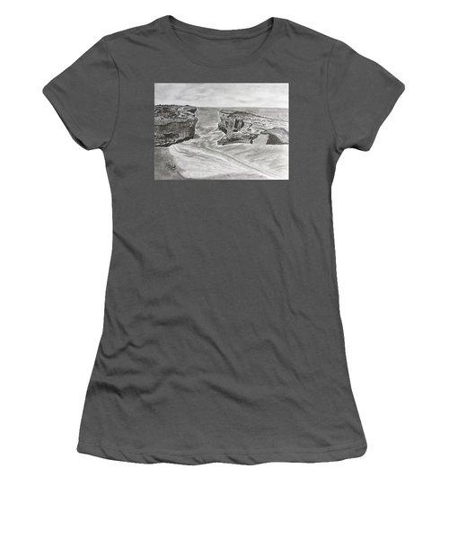 Down Under  Women's T-Shirt (Junior Cut) by Tony Clark