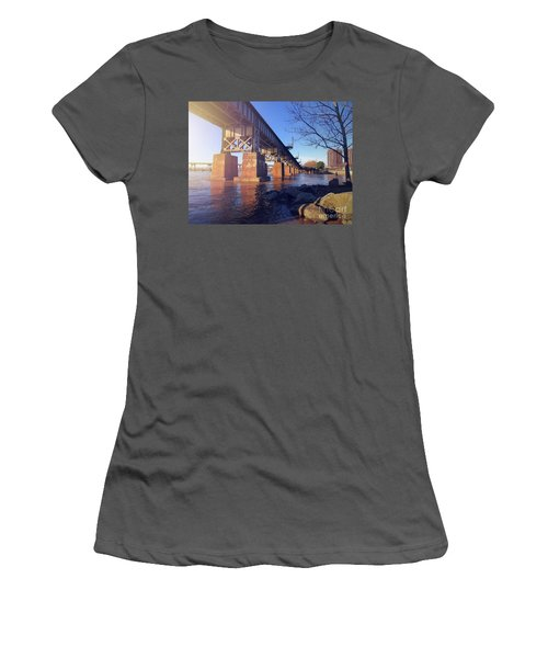 Downtown Women's T-Shirt (Athletic Fit)