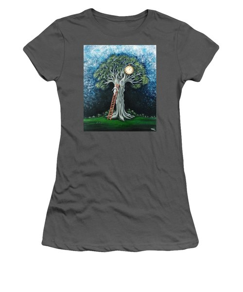 Dream Of The Clock Women's T-Shirt (Athletic Fit)