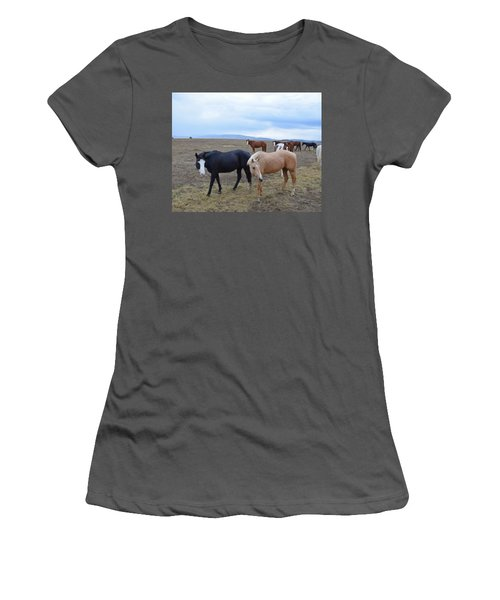 Dreaming Of Wild Horses Women's T-Shirt (Athletic Fit)