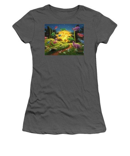 Dreamland IIi Women's T-Shirt (Athletic Fit)