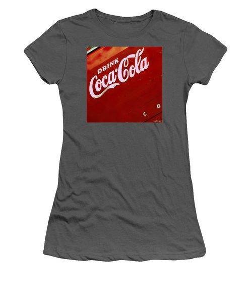 Drink Coke Women's T-Shirt (Athletic Fit)