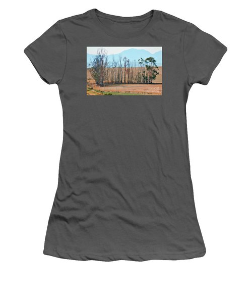 Drought-stricken South African Farmlands - 3 Of 3 Women's T-Shirt (Athletic Fit)