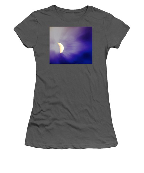Aries Moon During The Total Lunar Eclipse 3 Women's T-Shirt (Athletic Fit)