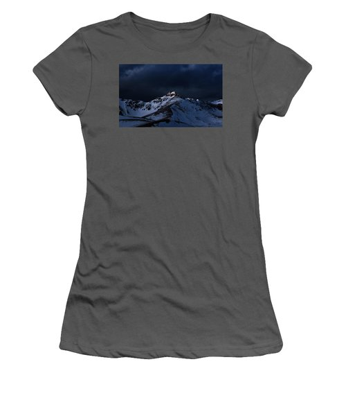 Dusk At Loveland Pass Women's T-Shirt (Athletic Fit)