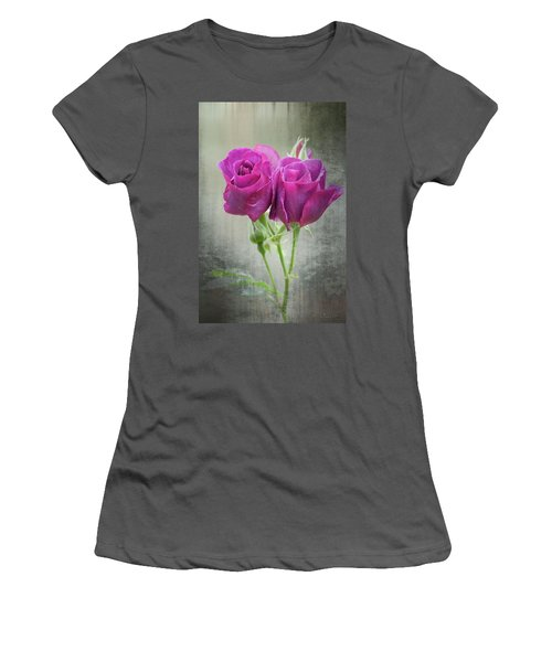 Dusty Roses Women's T-Shirt (Athletic Fit)