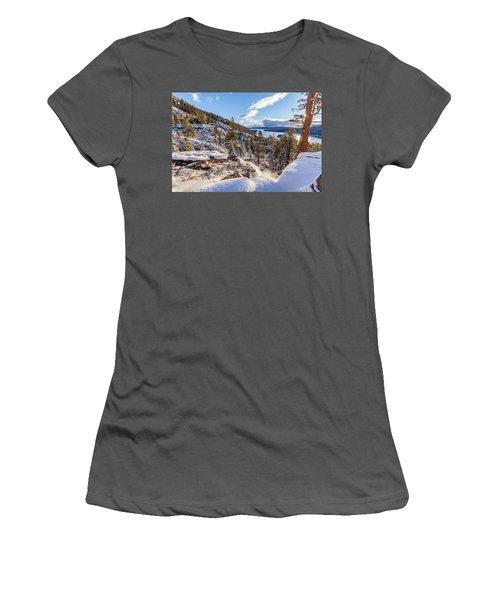 Eagle Falls Women's T-Shirt (Athletic Fit)
