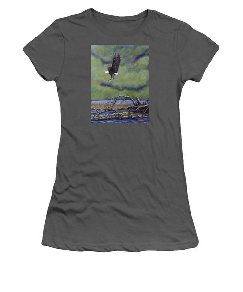 Eagle River Women's T-Shirt (Athletic Fit)