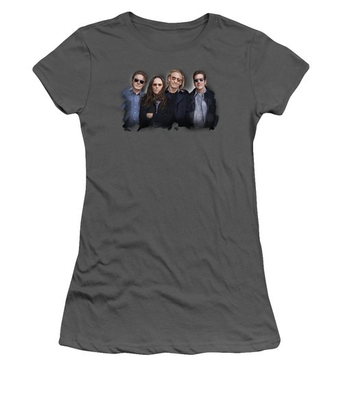 Eagles Band Women's T-Shirt (Athletic Fit)
