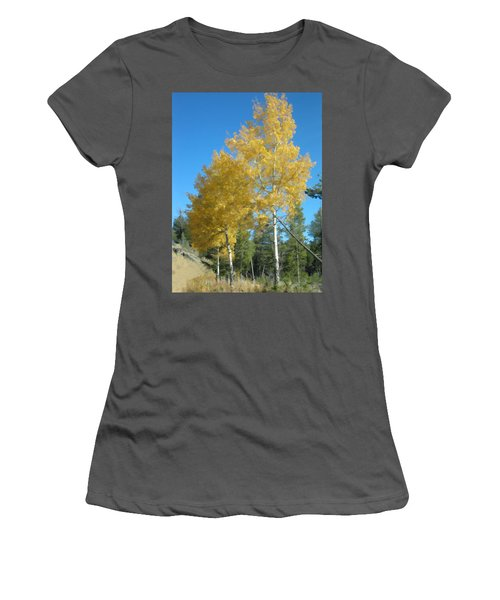 Early Autumn Aspens Women's T-Shirt (Athletic Fit)