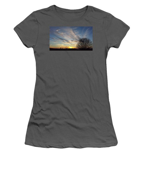 Early Evening Women's T-Shirt (Athletic Fit)