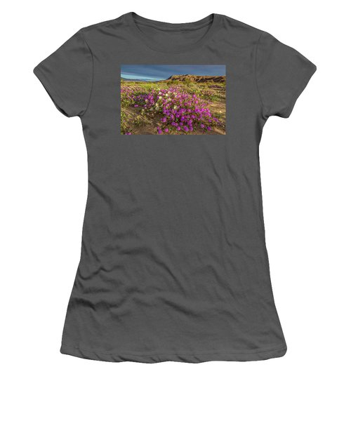 Women's T-Shirt (Junior Cut) featuring the photograph Early Morning Light Super Bloom by Peter Tellone