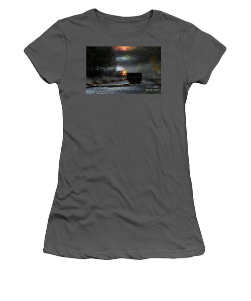 Early Morning Steel Women's T-Shirt (Athletic Fit)