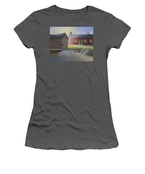 Early Morning Sun At The Shop Women's T-Shirt (Athletic Fit)