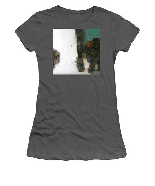 Earth Pattern Women's T-Shirt (Junior Cut) by Behzad Sohrabi