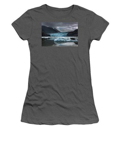 East Sawyer Glacier Women's T-Shirt (Athletic Fit)