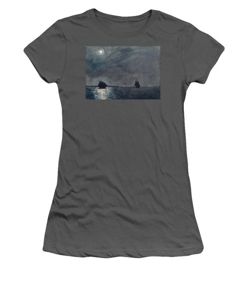 Eastern Point Light Women's T-Shirt (Athletic Fit)