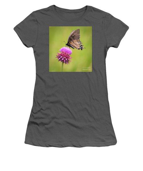 Eastern Tiger Swallowtail Dark Form  Women's T-Shirt (Junior Cut)
