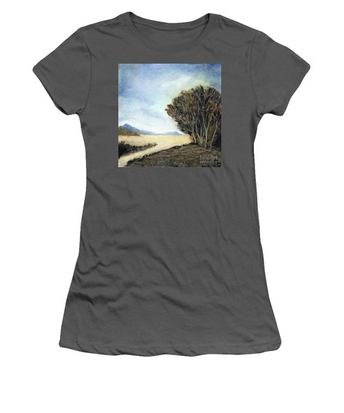 Edge Of The Mohave Women's T-Shirt (Athletic Fit)