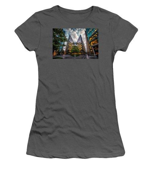 Edges Women's T-Shirt (Junior Cut) by Giuseppe Torre