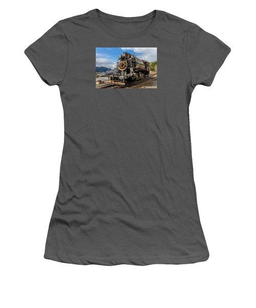 Elbe Steam Engine 17 - 2 Women's T-Shirt (Junior Cut) by Rob Green