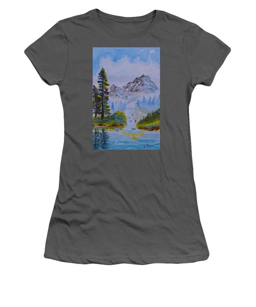 Elements Of Nature 2 Women's T-Shirt (Athletic Fit)
