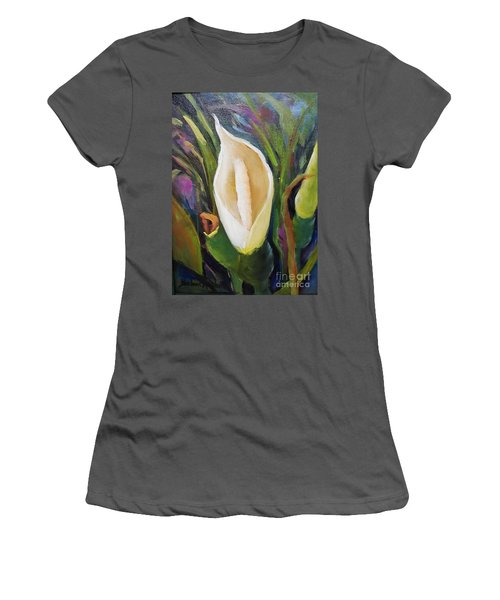 Elephant Ear Bloom Women's T-Shirt (Athletic Fit)
