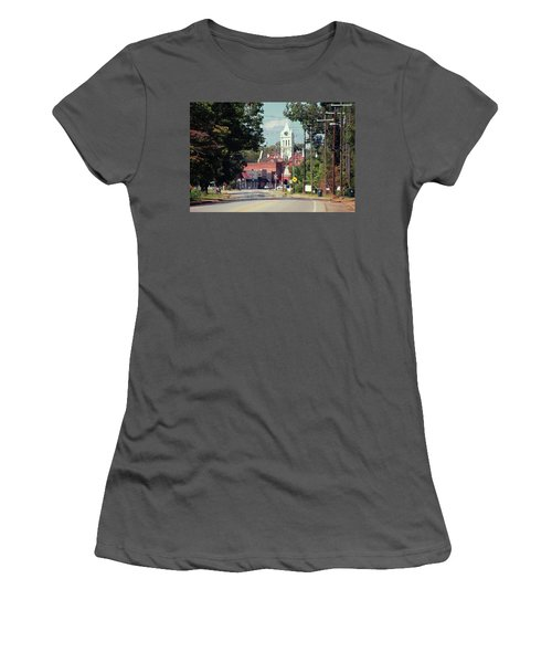 Women's T-Shirt (Junior Cut) featuring the photograph Ellaville, Ga - 2 by Jerry Battle