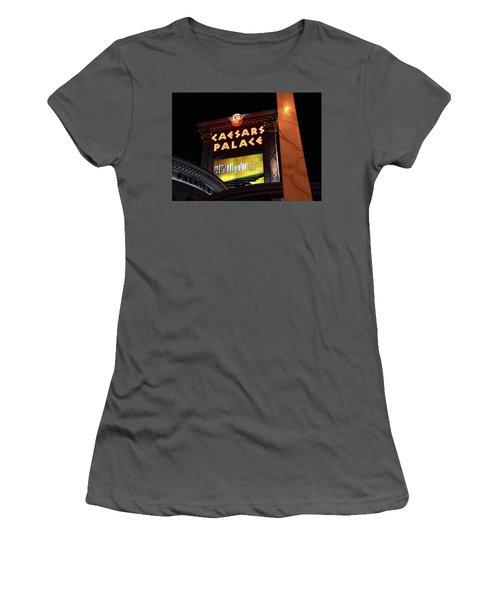 Elton John At Caesars Palace 2011 2018 Women's T-Shirt (Athletic Fit)