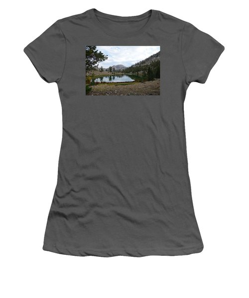 Jarbidge Wilderness Emerald Lake Women's T-Shirt (Junior Cut) by Jenessa Rahn