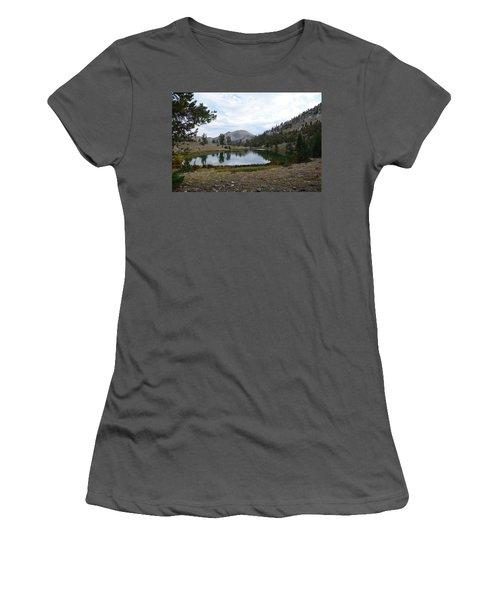 Jarbidge Wilderness Emerald Lake Women's T-Shirt (Athletic Fit)